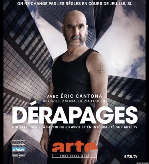 Série TV Dérapage, avec Eric Cantona