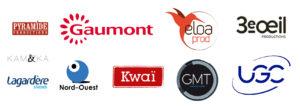 Gaumont, UGC, Lagardère, Eloa Prod, 3e Oeil Productions, KWAI, GMT Productions, Pyramide Productions