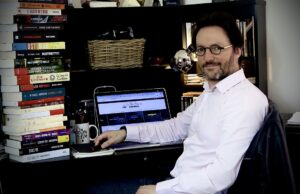 Romancier Ecrivain Scénariste TV Samuel Delage
